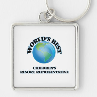 World's Best Children's Resort Representative Key Chains