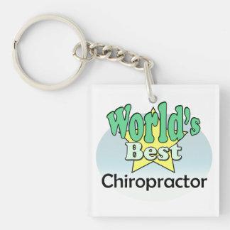 World's best Chiropractor Keychain
