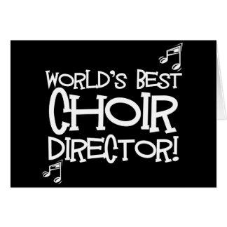 World's Best Choir Director Card