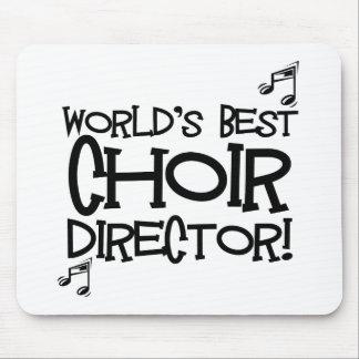 World's Best Choir Director Mouse Pad