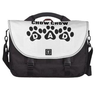 World's Best Chow Chow Dad Laptop Commuter Bag