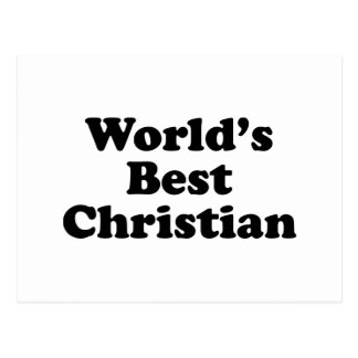 World's Best christian Postcard