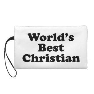 World's Best christian Wristlet Purse