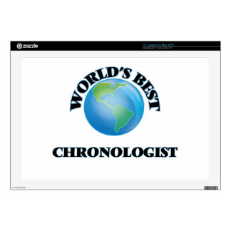 World's Best Chronologist Decal For Laptop