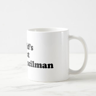 World's Best City Councilman Coffee Mug
