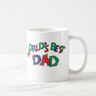 World's Best Classic White Coffee Mug