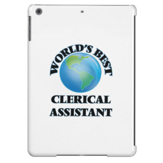 World's Best Clerical Assistant iPad Air Case