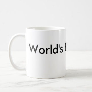 World's Best Clerk Coffee Mug