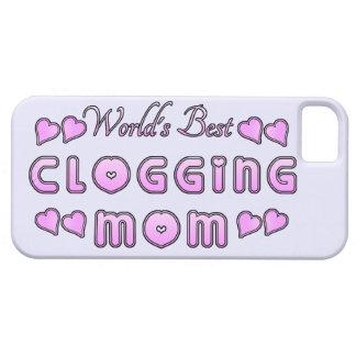 World's Best Clogging Mom iPhone SE/5/5s Case