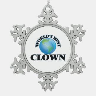 World's Best Clown Ornament