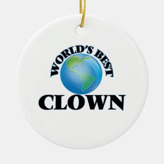 World's Best Clown Ornaments