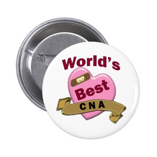 World's Best CNA Button