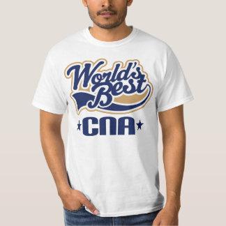 Worlds Best CNA Certified Nursing Assistant T-Shirt