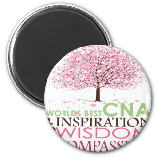 World's Best CNA Gifts Fridge Magnets