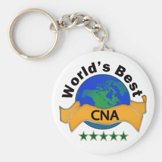 World's Best CNA Keychain