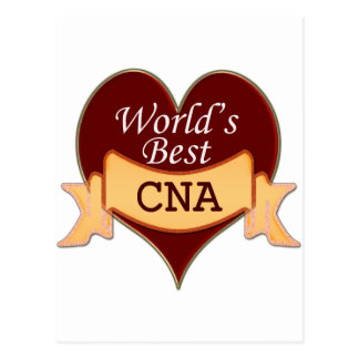 World's Best CNA Post Cards