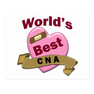 World's Best CNA Post Card