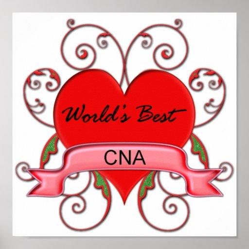 World's Best CNA Poster