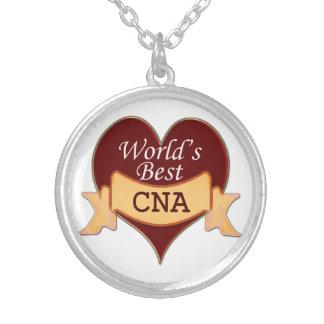 World's Best CNA Round Pendant Necklace