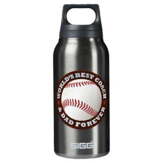 World's Best Coach & Dad 1 Insulated Water Bottle