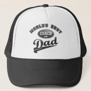 World s Best Coach   Dad Trucker Hat 3bed7167409