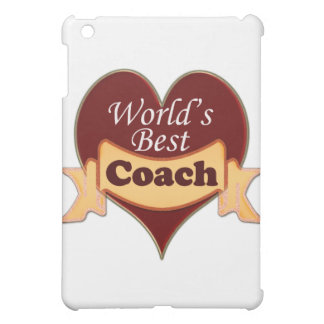World's Best Coach iPad Mini Cover
