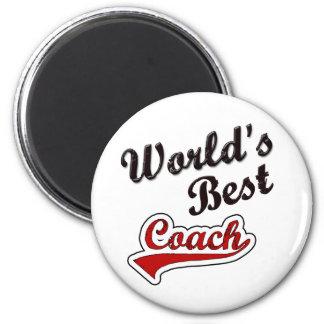 World's Best Coach Magnet