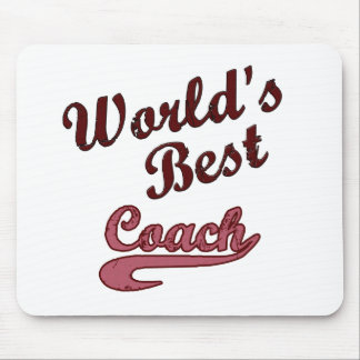 World's Best Coach Mouse Pad