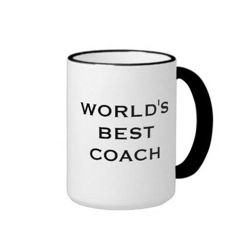 World's Best Coach Mug