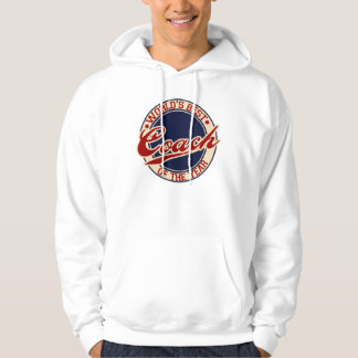 World's Best Coach of the Year Hoodie