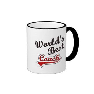World's Best Coach Ringer Mug