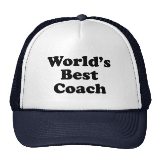 World's Best Coach Trucker Hat