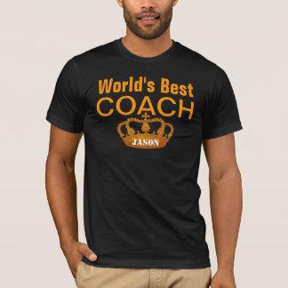 World's Best COACH Vintage Gold Crown A6 T-Shirt