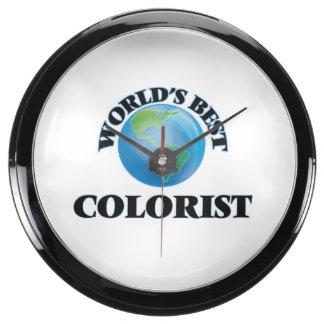 World's Best Colorist Aquarium Clocks