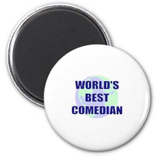 World's Best Comedian Magnet