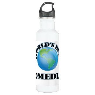 World's Best Comedian 24oz Water Bottle