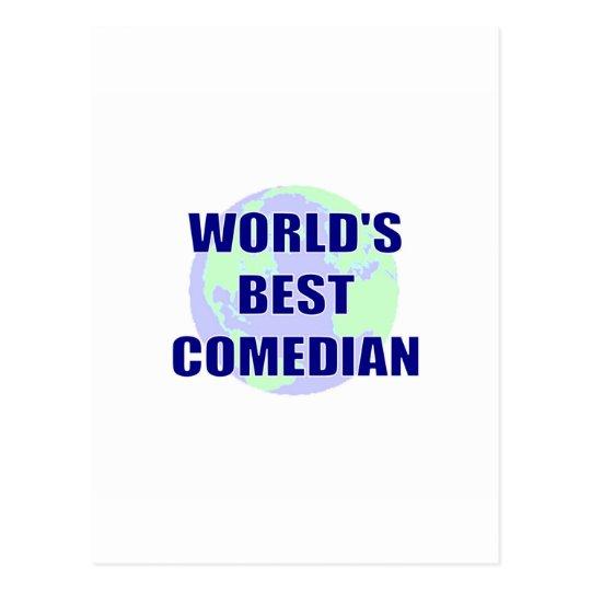 World's Best Comedian Postcard