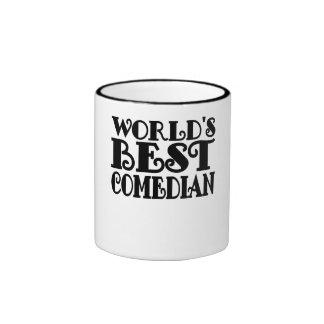 World's Best Comedian Ringer Mug