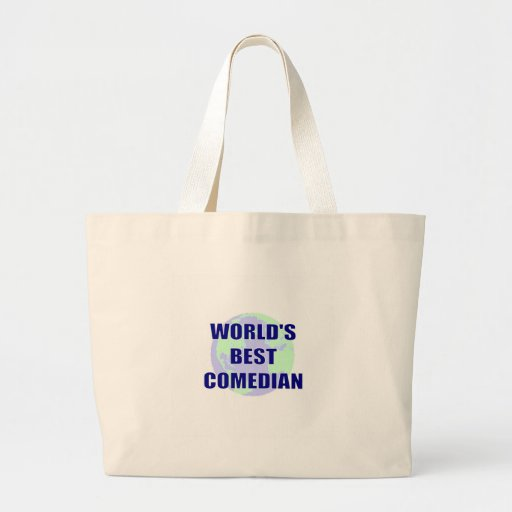 World's Best Comedian Tote Bag