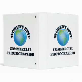 World's Best Commercial Photographer Vinyl Binder