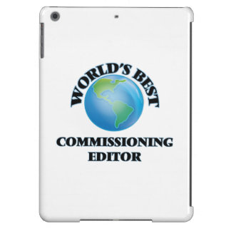 World's Best Commissioning Editor iPad Air Cases