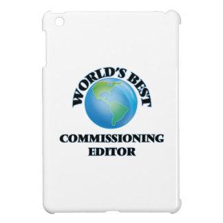 World's Best Commissioning Editor iPad Mini Cover