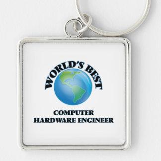 World's Best Computer Hardware Engineer Keychain