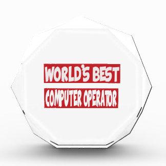 World's Best Computer operator. Award