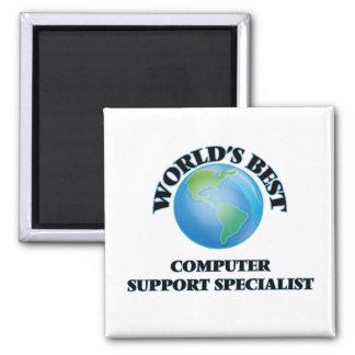 World's Best Computer Support Specialist Fridge Magnet