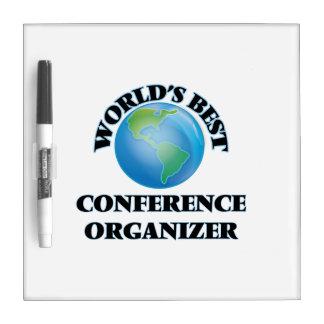 World's Best Conference Organizer Dry-Erase Whiteboard