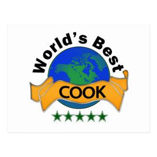 World's Best Cook Postcard