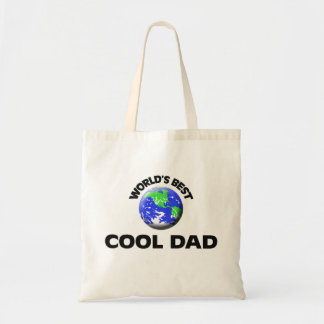 World's Best Cool Dad Canvas Bag