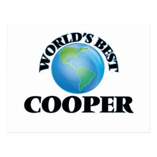 World's Best Cooper Postcard