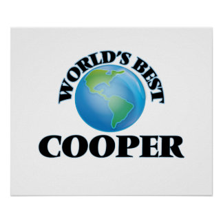 World's Best Cooper Poster